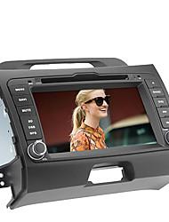 """7 """"touch screen motorizzato lettori DVD 2 DIN per Kia Sportage 2013 anni con gps, fm, atv, Bluetooth, IPOD"""