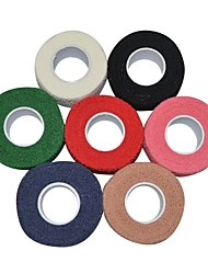 deportes al aire libre 2.5cm x 4.5m ser que adhiere algodón elástico vendaje cohesivo