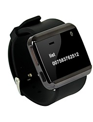 U смотреть 2s смарт Bluetooth часы для андроид IOS система синхронизации ответ на вызов mp3 смартфона