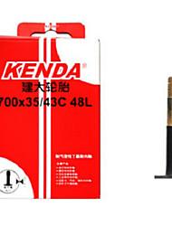 KENDA 700*35/43c AV 48mm Butyl Rubber Road Bike Tube