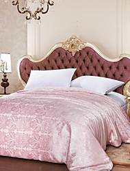 100% Cotton Jacquard Air-Condition Silk Comforter