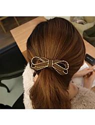 moda bowknot capelli cotone lega dei capelli cerchio colore casuale