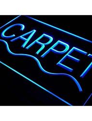 I388 Teppichgeschäft Auto locken Display neuen Neon-Licht-Zeichen