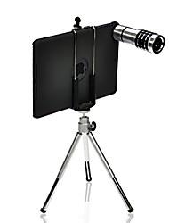 12x cámara telescópica de la lente Mini iPad + trípode telescópico