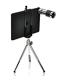 12x ipad mini caméra téléobjectif + trépied télescopique