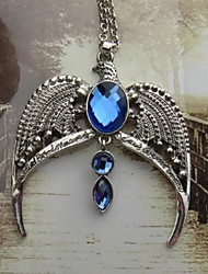 Holiday Jewelry Wizard/Witch Movie Cosplay Silver / Blue Necklace Halloween / Christmas / New Year Female / Male Alloy