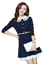 Women's Slim Fit Knitting Dress