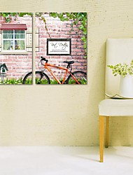 Stretched Canvas Print Art Landscape Spring Is in The Air Set of 2