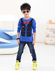 Boy's Fashion And Personality Long Sleeve T Shirt