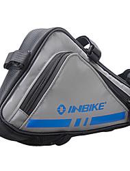 inbike 600d bleu cadre du vélo portable sac top tube sac de triangle