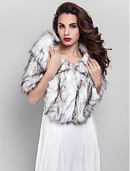 Fur Wraps Shrugs Faux Fur As Picture Shown Party/Evening / Office & Career
