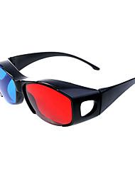 rood blauw split-screen 3d bril voor 33d film