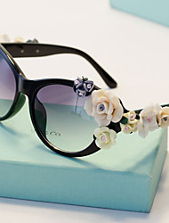 J&X Baroque Luxurious Anti Uv Sunglasses