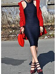 Topro Women's Knee-Length Midi Summer Office Ladies Elegance Bodycon Bandage Dress