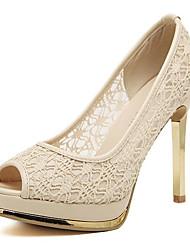 Nicy Women's Open Toe Stiletto Heels
