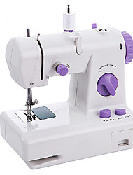 Fancy Mini Electric Purple Buttons Sewing Machine
