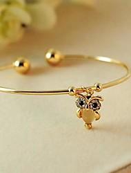 braccialetto di diamanti lureme®shiny simpatico gufo opale (colori assortiti)