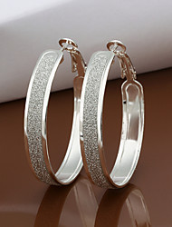 R&D Silver-Plated Earrings