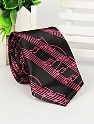 note doghe uomini di stampa di moda multicolore cravatta