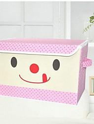 la boîte de stockage répliqué de simple non-tissé fille