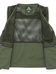 AFS JEEP ⅡMuti-porket Gridding Waistcoat Vest for Outdoor Photographer Director [XXL]