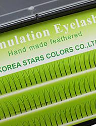 80Pcs Mink Eyelash Extention False Eyelash