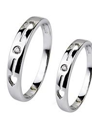 i free®unisex Art und Weise S925 silber Paar Ring 1 pc / promis Ringe für Paare