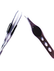 1Pcs Hair and Eyebrow Tweezers (3 Colors)