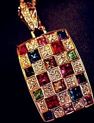 Colourful  Women's Colorful Crystal Necklace