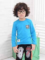 TOBOO ® Boy's Cotton Round Neck Long-Sleeved T shirt Child T-Shirt Small Boys Clothing