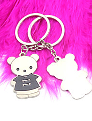 Stainless Steel Keychain Favors-6 Piece/Set Keychains Fairytale Theme Personalized Silver