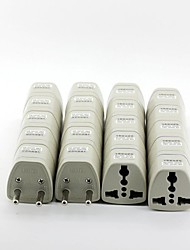 Universal EU AC Travel Power Adapter Plugs (20/Pack)