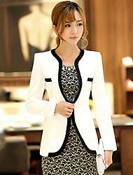 YIBEIER Fashion New Short Long Sleeve Coat_68