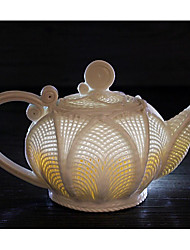 LIAN® Chinese Culture Hollow Kapok  Kung Fu Teapot