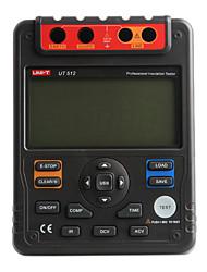 UNI-T UT512 Insulation Resistance Tester 2500V, PI, DAR, Analog Bar, USB Interface