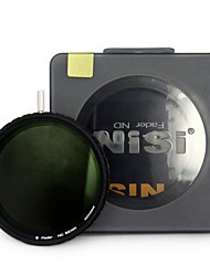 nisi® 82мм nd4-500 ультратонкий нейтральной плотности регулируемый диммер фильтр