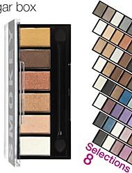 6 Colors Eyeshadow Palett Makeup Kit