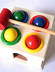 Children Wooden Percussion Hammer Box