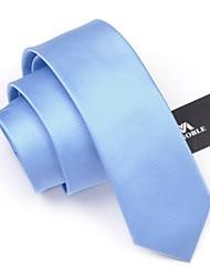 moda masculina mezclar lazos de color sólido corbata 6cm