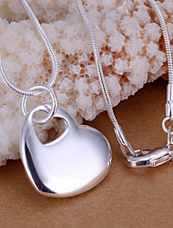 Vilin женщин серебра сердце кулон