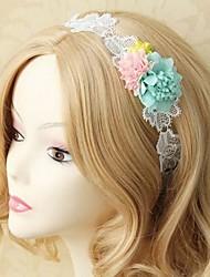 Handmade Back-to-ancients Mori Girl White Sweet Lolita Headband