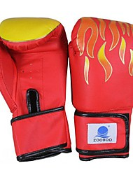 Red Black Adult Boxing Gloves Average Size