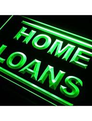 prêts immobiliers I420 de services signe de néon