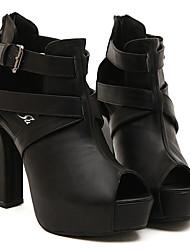 Cuero , Como la Imagen Zapatos de mujer