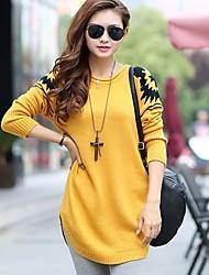 Women's Loose Pullover Knitwear Long Sweater