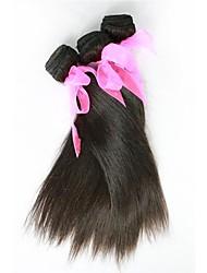 26inch 1Pcs/Set Great 6A Natural Black 100% Brazilian Virgin Human Hair Straight Hair Weave
