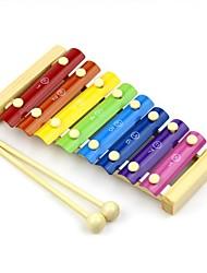mano serinette pino golpeando los juguetes educativos del piano para bebés