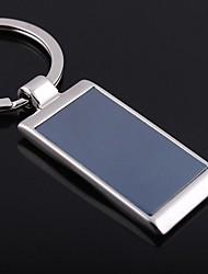 as forma plana de metal prata brinquedos chaveiro