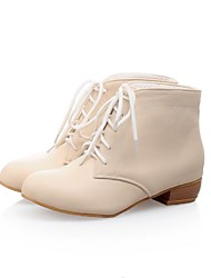 Women's Shoes Fashion  Low Heel Ankle Boots with Lace-up More Colors available