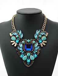 Dawi westlichen Stil Acryl frische Vintage Halskette